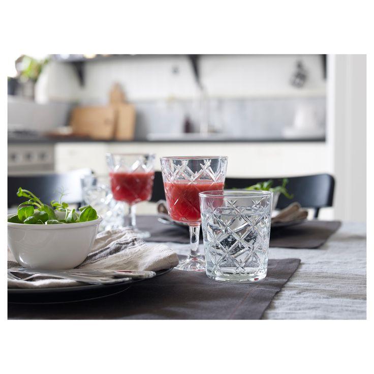IKEA FLIMRA wine glass