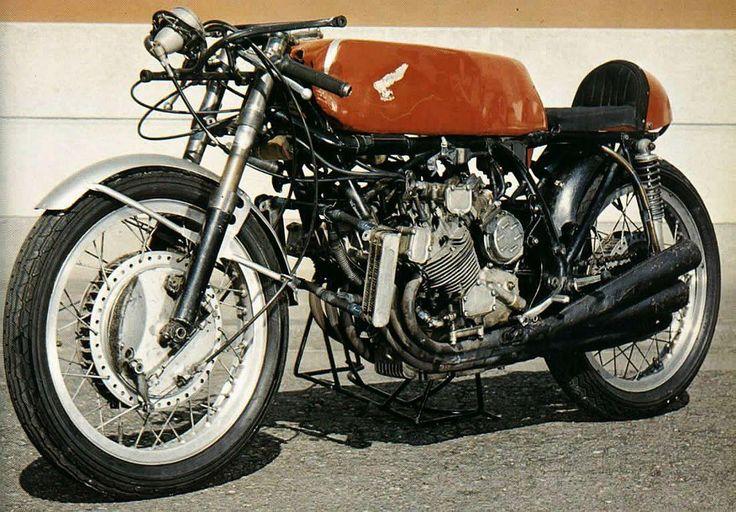 old Honda GP bike    #cafe #motorcycle #Cretins