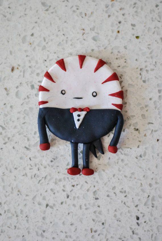 Adventure Time Peppermint Butler Clay Sculpture