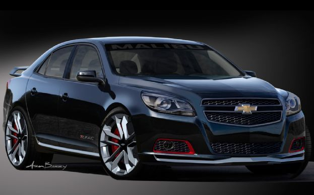 2013 Chevy Malibu, as it should look.