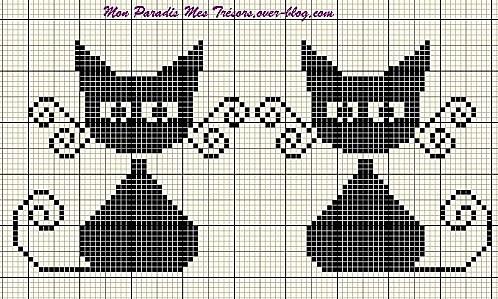 kitten cat cross stitch