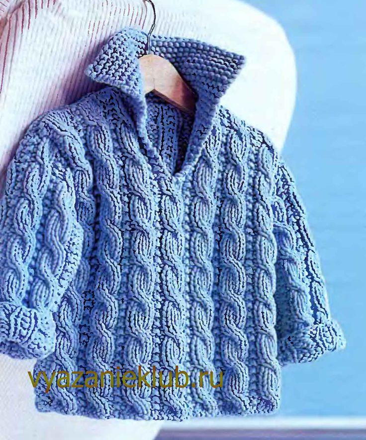 Пуловер для детей 1 год - Для детей до года - Каталог файлов - Вязание для детей