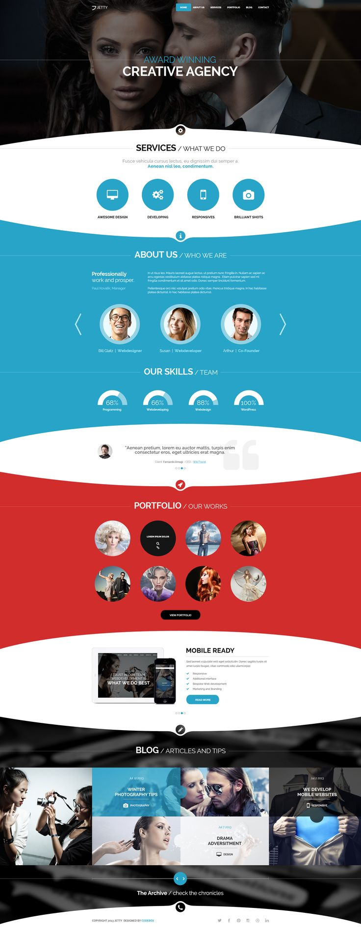 JETTY - PSD Template http://themeforest.net/item/jetty-psd-template/5293097?ref=wpaw #web #design #psd