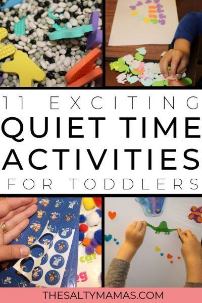 Quiet Activities for Toddlers and Preschoolers at Home