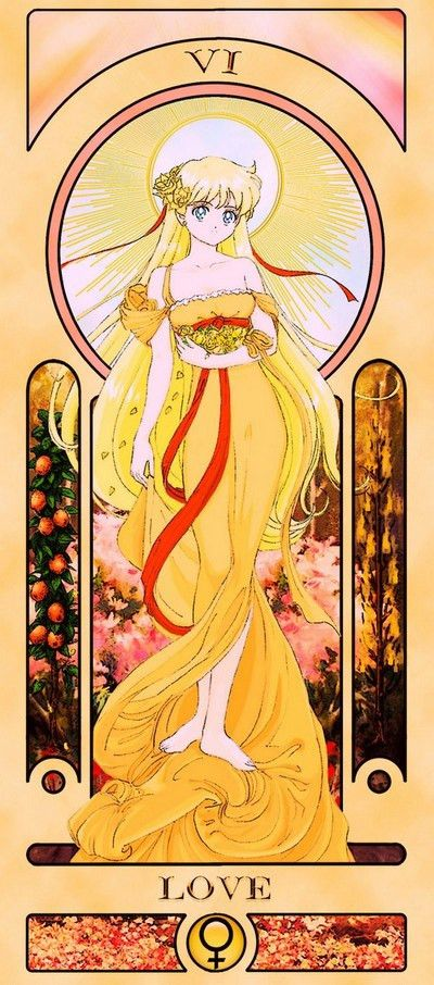 """Crunchyroll - Divine Your Fate With These Fan-Made """"Sailor Moon"""" Tarot Cards"""