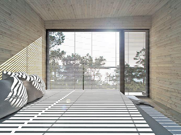 S400 Linjakas talo - Sunhouse