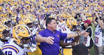2017 College Football Playoff rankings: LSU appears in initial Top 25