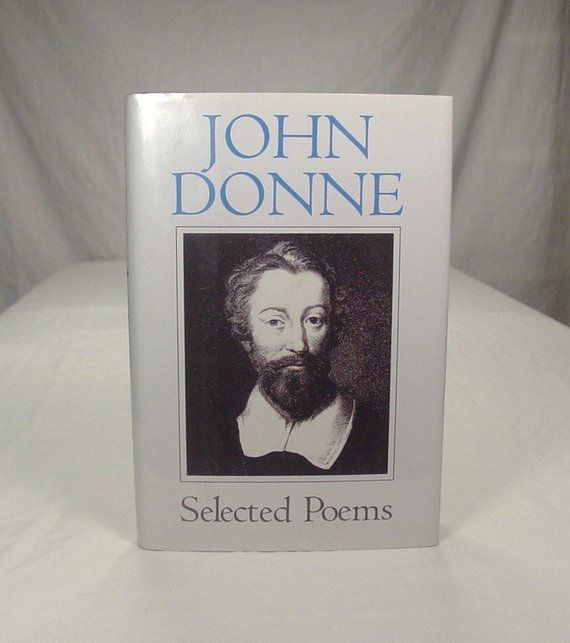 John Donne Selected Poems Introduction By Christopher Etsy Most Famous Poems Poems Poetry Books