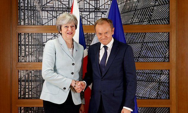 Theresa May's Brexit Lite Theresa May 'could let ECJ keep role in UK after Brexit'