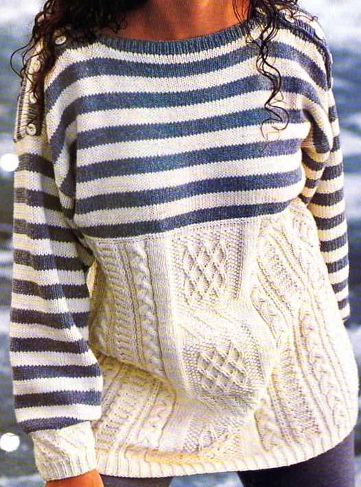 [Knitting] Irish sailor - Boutique Knitting and Crafts with French instructions