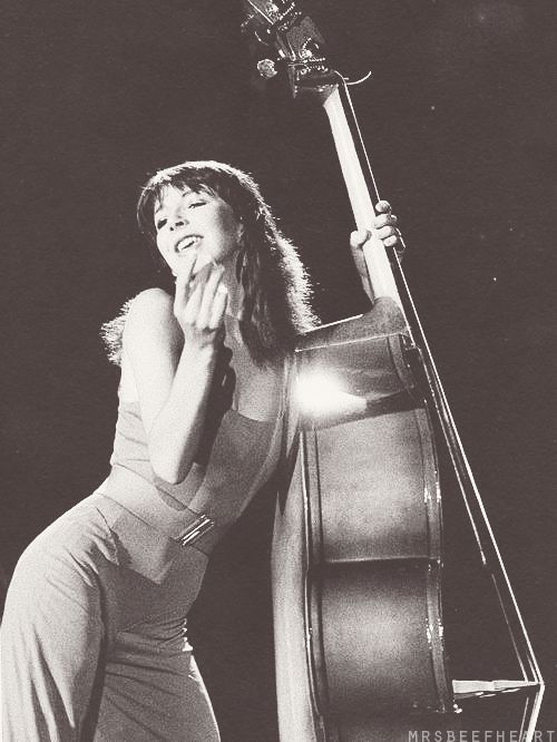 kate bush - when she dances with the upright bass like it's a man