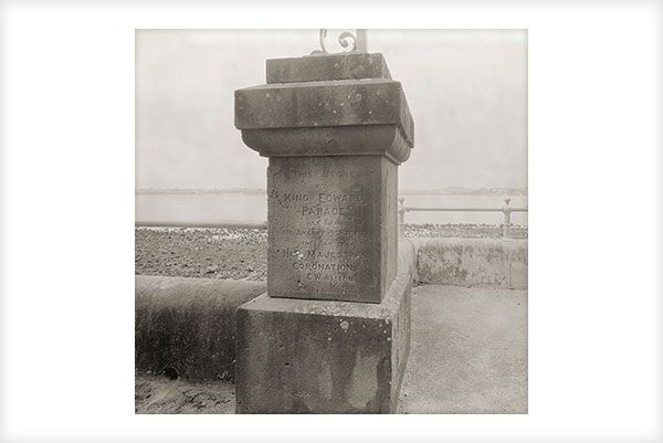 """""""King Edward Stone"""" is a fine art photograph by Jonathan Bourla.  Taken with a large format view camera similar to the plate cameras of one hundred years ago.  This limited edition photograph is printed on one hundred percent acid-free cotton rag paper with pigment ink.  To see more of Jonathan's photographs, go to www.jonathanbourla.com"""