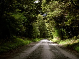 Hollydord road, Fiordland. Southern Blast: Southern Adventure: Exploring the South of New Zealand