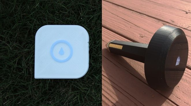 Smart irrigation controller uses in-ground sensors and weather forecast to reduce water bills by 60%