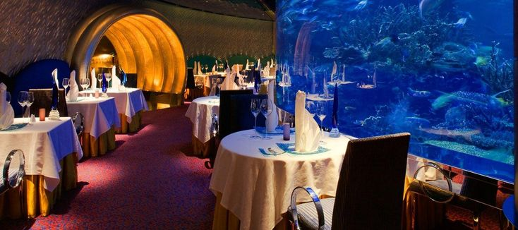 Al Mahara Restaurant - Best Seafood in Dubai | Burj Al Arab, Jumeirah
