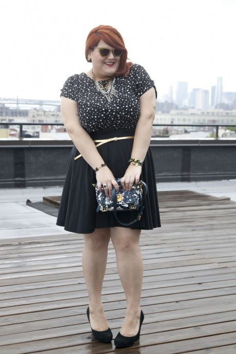 """An Interview with Nicolette Mason, Marie Claire's New """"Big Girl in a Skinny World""""- Read it..."""
