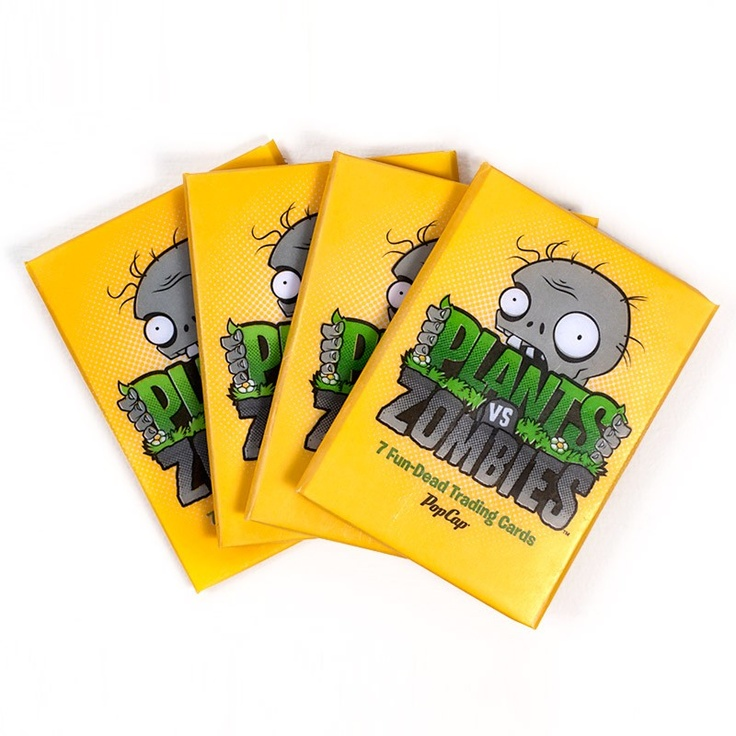 Plants vs. Zombies Store Plants vs. Zombies Trading Cards