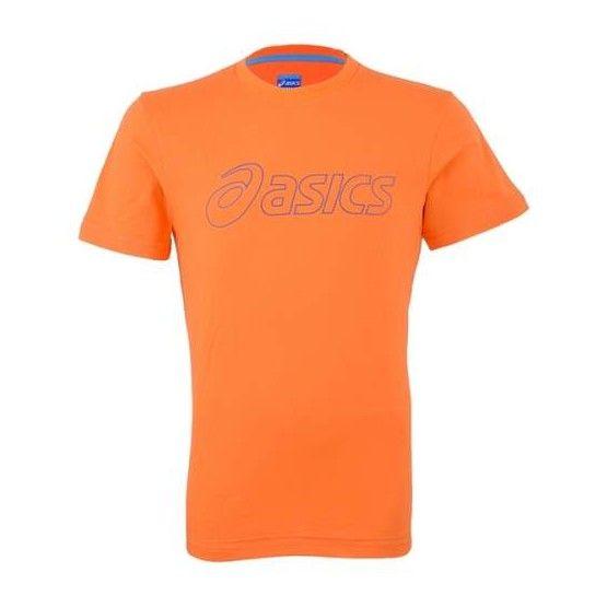 Asics M'S SS Logo Tee férfi póló narancssárga