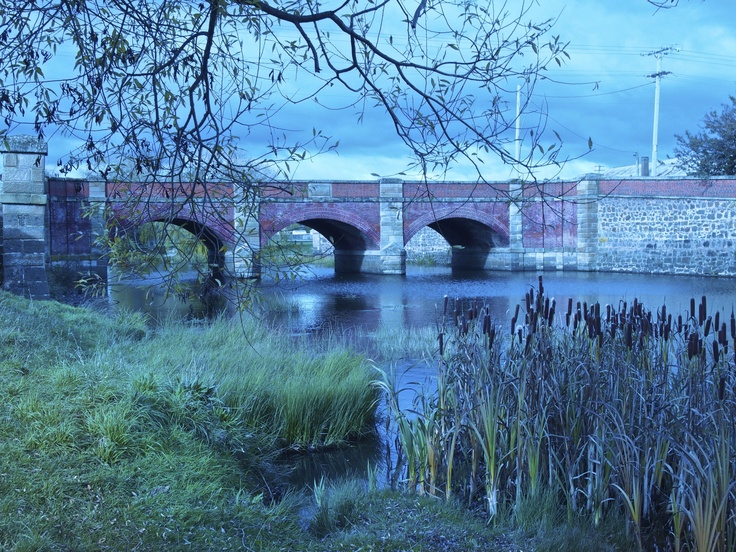 Campbell Town Bridge, Midlands, Tasmania