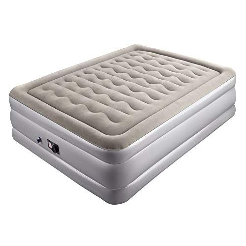 Sable Inflatable Full Size Air Mattress, Raised Air Bed w ...