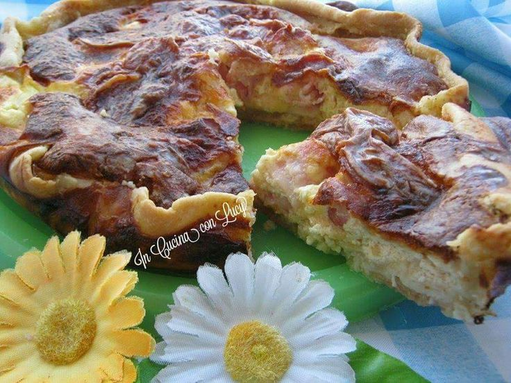Torta salata con bacon e provola(versione bimby) Preparare la pasta brise fatta in casa è semplicissimo,basta amalgamare gli ingredienti, appallotolare ...