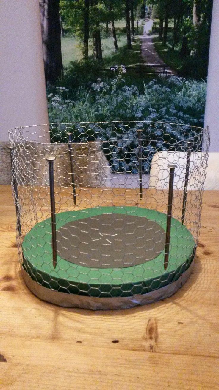 Sinterklaas surprise trampoline