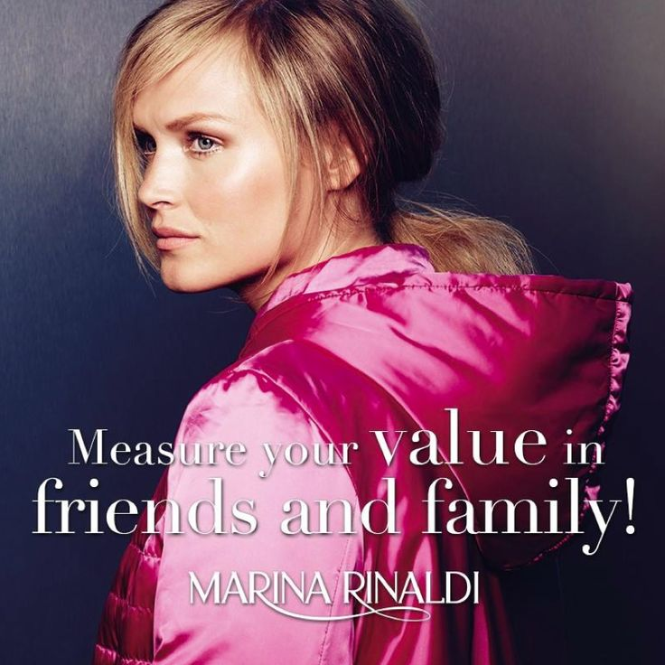Measure your value in friends and family!