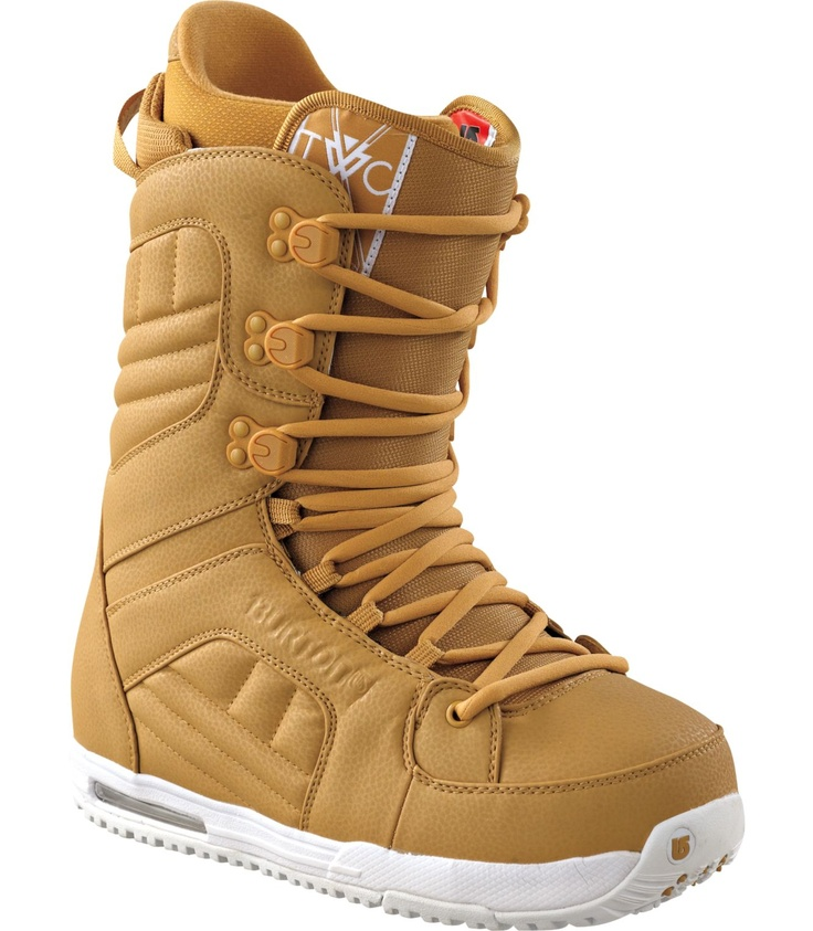 Burton TWC Snowboard Boots 2012 Mustard Boots, Snowboard