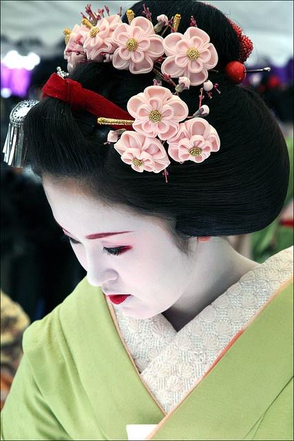 Kanzashi blooms