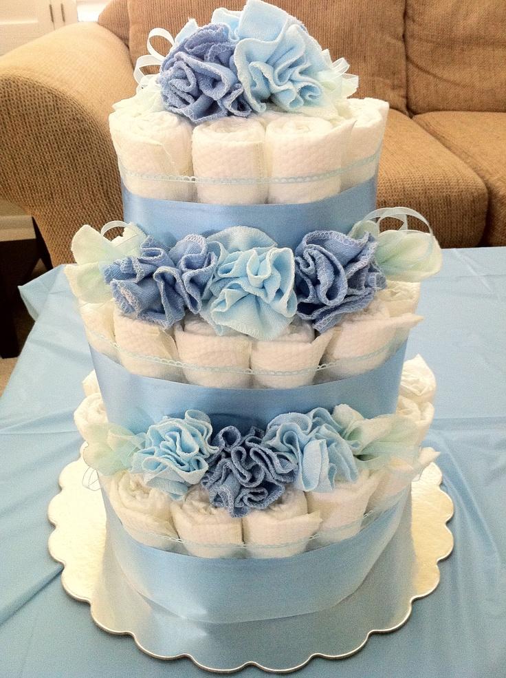 Diaper Cake Blue