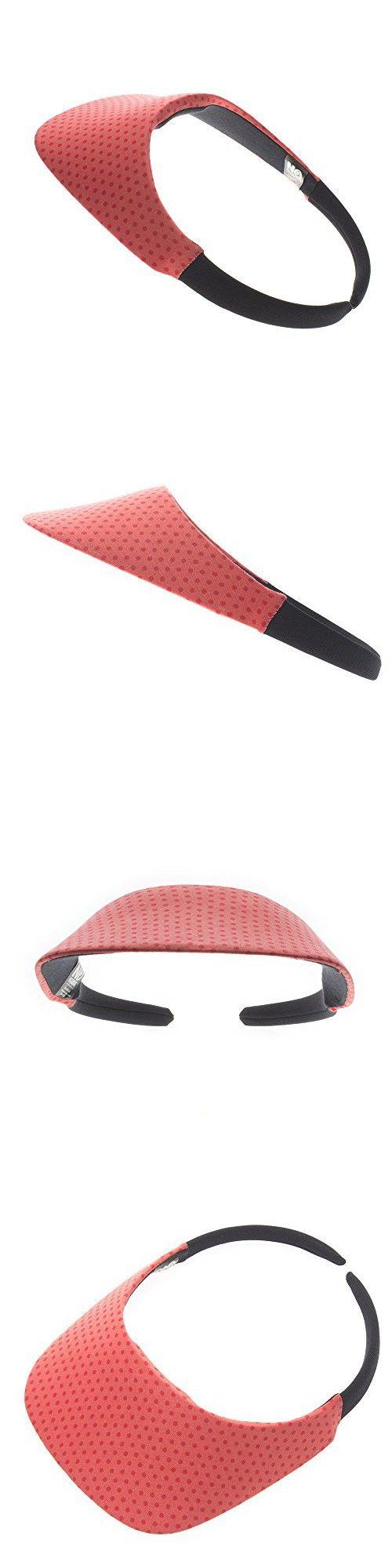 "The ""Original"" No Headache Womens Sun Visor Hat (Coral Dot)"