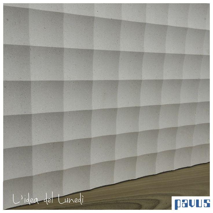 Buon lunedì, oggi vi presentiamo un prodotto Lithos Design: Un bellissimo marmo bianco finemente lavorato per creare bellissimi effetti di luce tramite una texture quadrata. Il tutto contornato da una grande novità CP Parquet: listone in noce oliato con finitura natura.