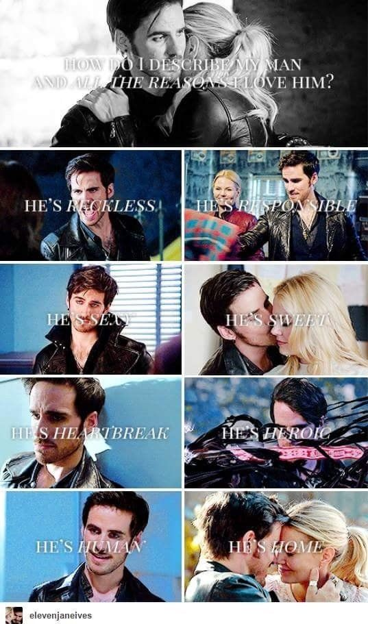 Emma describing Killian