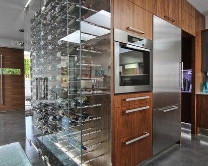 Vin De Garde Modern Wine Cellars  , Modern Wine Cellar, Vancouver