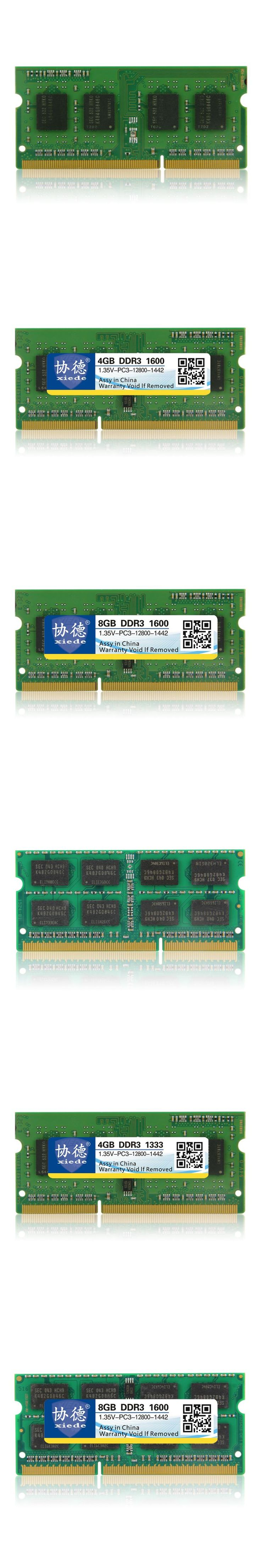 DDR3L Memory Ram 1600Mhz 2GB 4GB 8GB For Laptop Notebook Sodimm Memoria Compatible DDR3 L DDR 3 L 1600 1333 Mhz PC3 12800 1.35V
