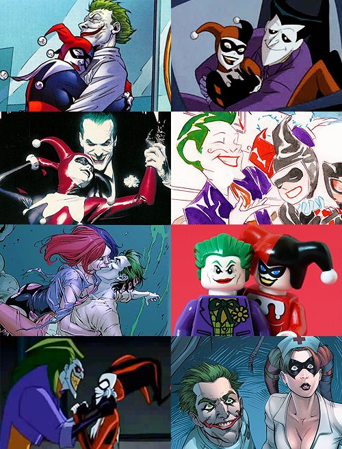 "The Joker and Harley Quinn ""Even in a thousand universes, I'd always find you."""