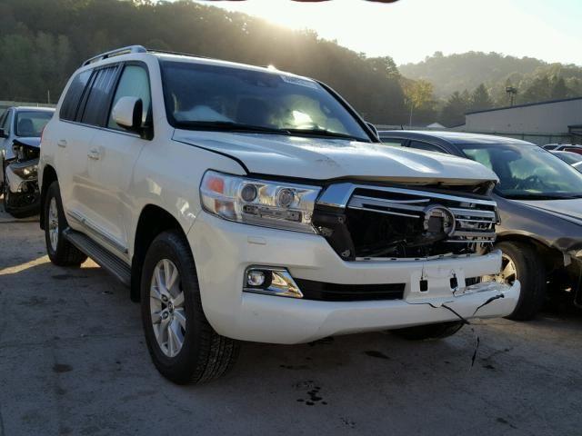 Salvage 2018 Toyota Landcruiser Land Cruiser Toyota Land Cruiser Salvage