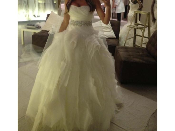8 best used wedding dresses images on pinterest bridal for Vera wang diana wedding dress