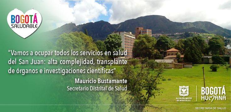 Vamos a ocupar todos los servicios en salud del San Juan: alta complejidad y transplante de órganos #ReviveElSanJuan