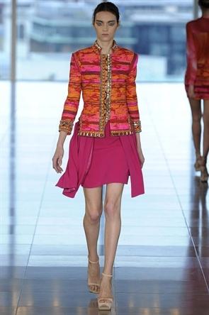 Scarlet Bindi - South Asian Fashion: Matthew Williamson London Fashion Week Spring 2013: Indian Inspiration