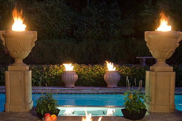 33 best pedestals and columns images on pinterest for Garden pool on a pedestal crossword clue