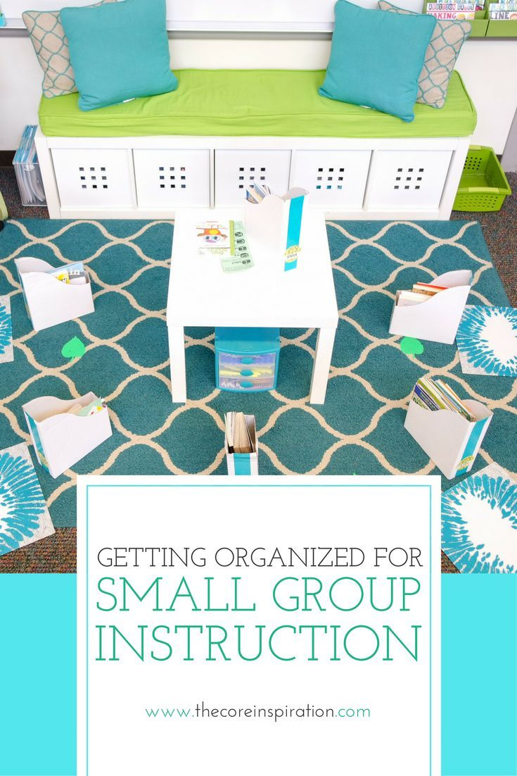 Setting up a mini lesson zone in your classroom is a perfect way to keep guided reading groups or any small group instruction more organized, targeted, and efficient. All three of the problems presented in this post are things I struggled with as a classr