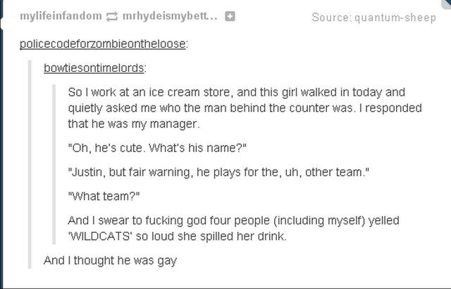 Just some Tumblr posts I found hilarious put together for your enjoyment. :) - Imgur Sorry for the language