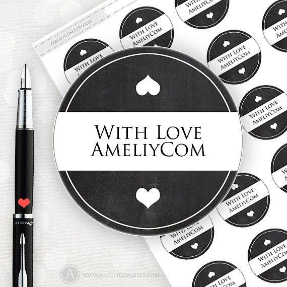 Printable Editable Labels, Stickers, Tags Custom Chalkboard Label Personalized Label Sticker. Editable PDF Gift Tags DIY Mason Jar Labels