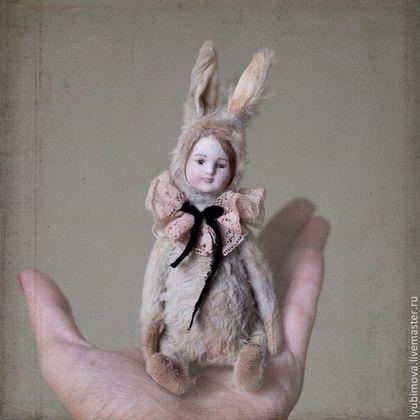 Мятный кролик - тедди,тедди медведи,тедди мишка,тедди зайка,тедди долл