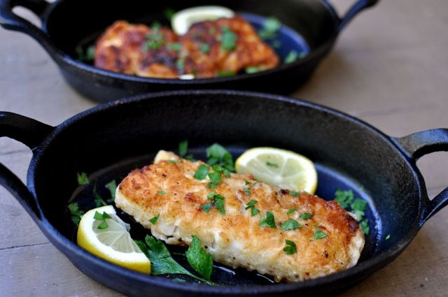 FoodSwoon » Poisson Meunière (Fish With Lemon and Brown Butter)