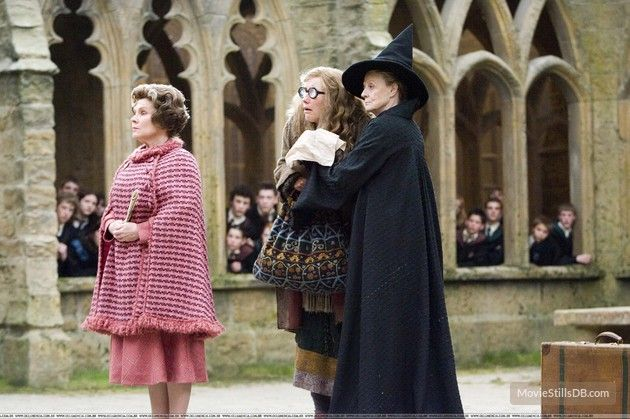 Harry Potter and the Order of the Phoenix (2007) Imelda Staunton, Emma Thompson and Maggie Smith