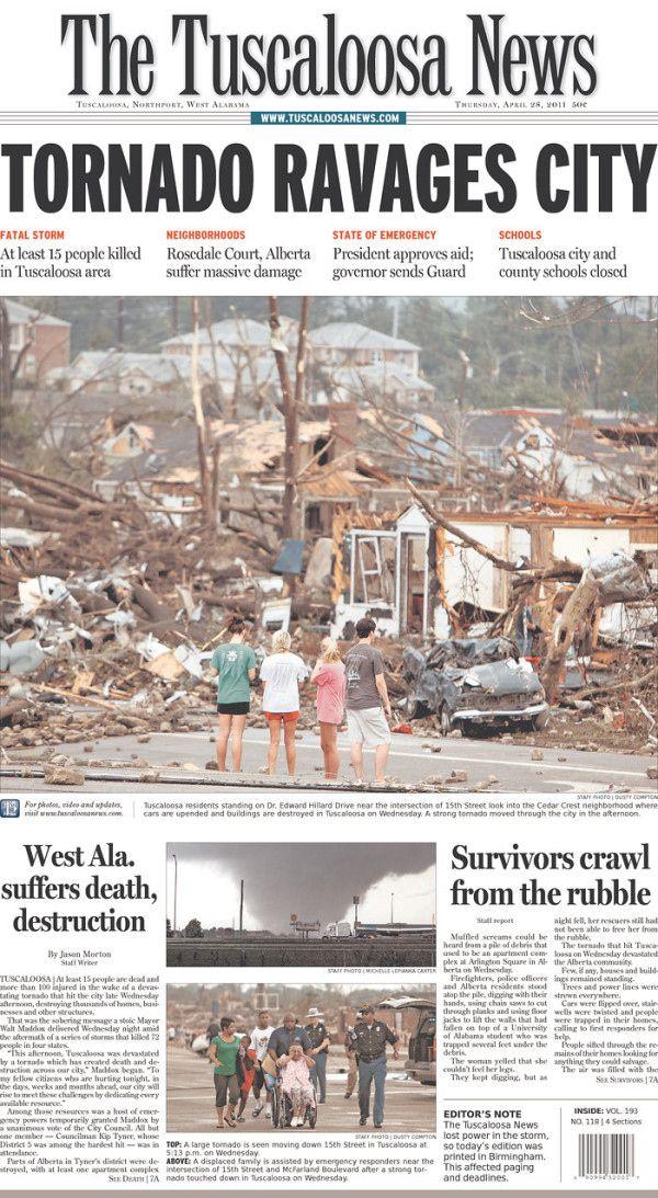@MillsSaveUSA R.Mills #SaveUSA Wake Up Ala. God's Very Angry. Tuscaloosa, Alabama Tornadoes