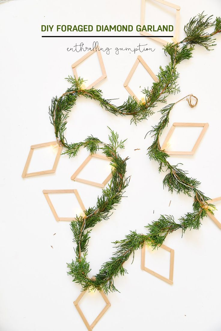 how to make paper christmas garland