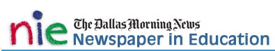 """NIE - A great free tool packed with resources from The Dallas Morning News. Teachers get access to a daily eEdition at no additional charge as well as """"access to videos, programs, lessons and more!"""" Editorial cartoons, daily science webcasts and more are included with each digital paper for EVERY student!"""